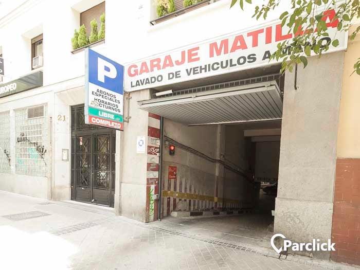 Garaje Matilla