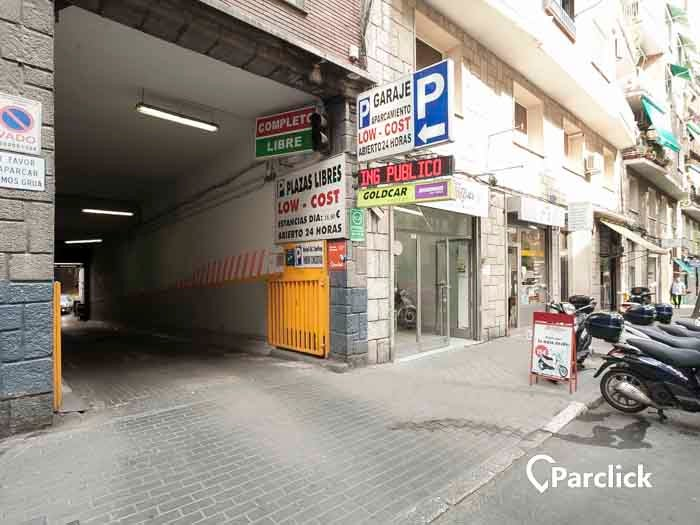 parking diego de leon madrid
