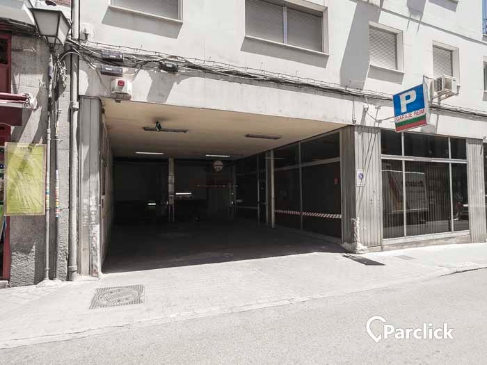 car park in calle de san bernardino 4 in madrid parclick