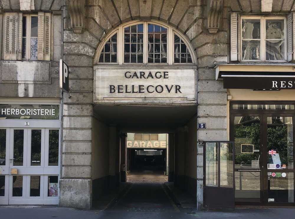 Garage Bellecour - Place Gailleton