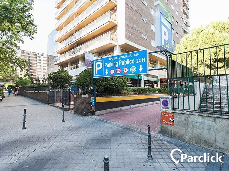 Parking En Calle Del Principe De Vergara 126 En Madrid Parclick