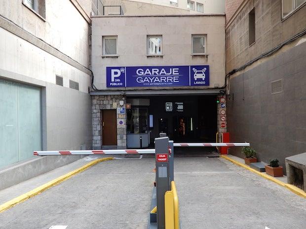 Garaje Gayarre - Nuevos Ministerios