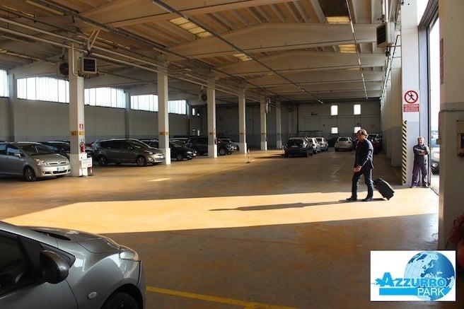 Azzurro Park - Aeroporto di Milano Bergamo Orio al Serio - Coperto