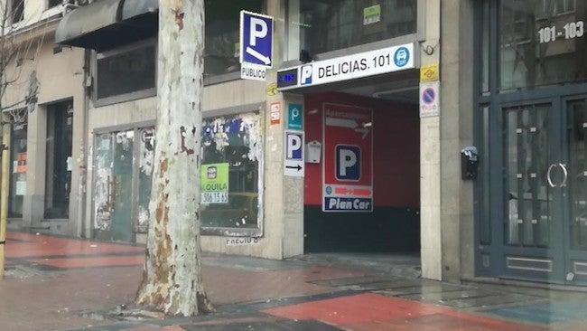 parking delicias 24 horas madrid