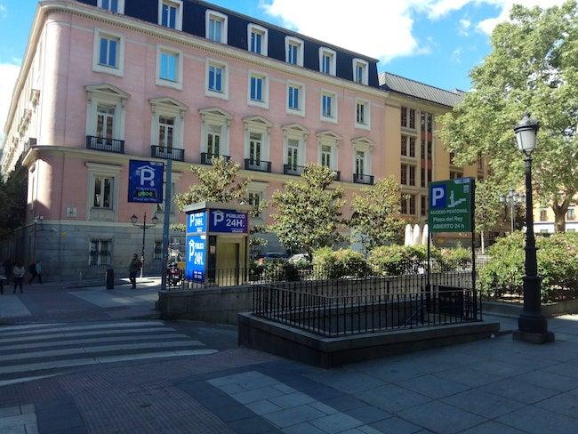Parking Apk2 Plaza Del Rey In Plaza Del Rey 1 Madrid Parclick
